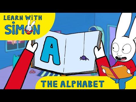 Simon - Learn The ALPHABET With SIMON [Official] Cartoons For Children
