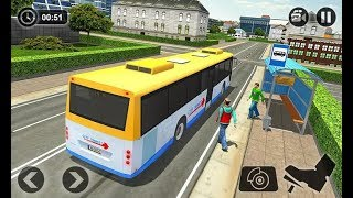 Sea Bus Driving - Tourist Coach Bus Duty Driver - Android Gameplay FHD