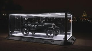 Four-wheeled history hits the National Mall