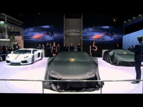 AUTOMOBILI LAMBORGHINI AT THE AUTO CHINA 2014 IN BEIJING: PRESS CONFERENCE