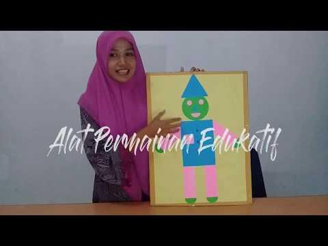 Alat Permainan Edukatif (APE) Mengenal Bentuk Geometri