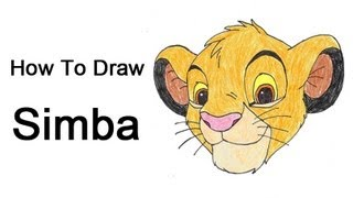 How to Draw Simba (Lion King)
