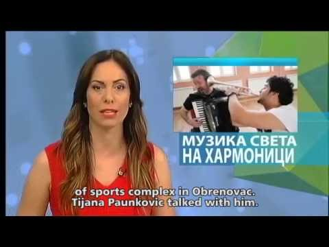 Jovan Pavlovic guests RTS(Radio TV Serbia) Cultural news