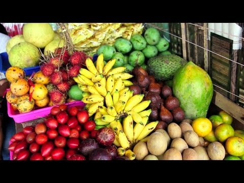 Exotic Fruits & Shopping - CAKE TRAVELS #9
