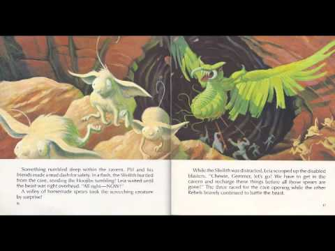 """""""Star Wars: Planet of the Hoojibs"""" Read-Along Book and Tape"""