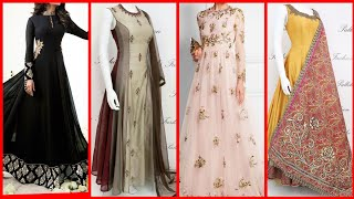 Stylish long frock Maxi designs for girls