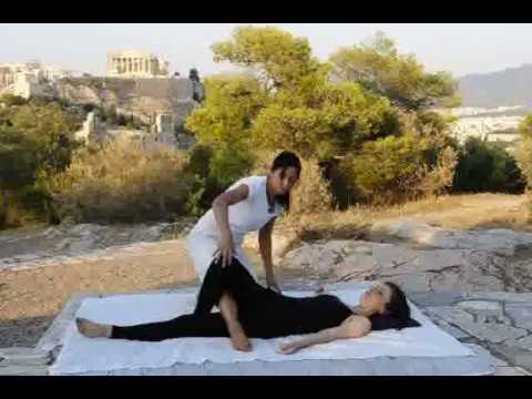Thai Massage back stretchings ★ Healing Arrow By Artemis