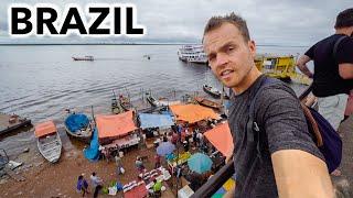 Manaus, Brazil (Huge City in Amazon of 2 Million People)