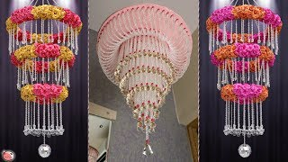 Chandelier.... Beautiful Pearls Wall Hanging Ideas For Your Home !!!