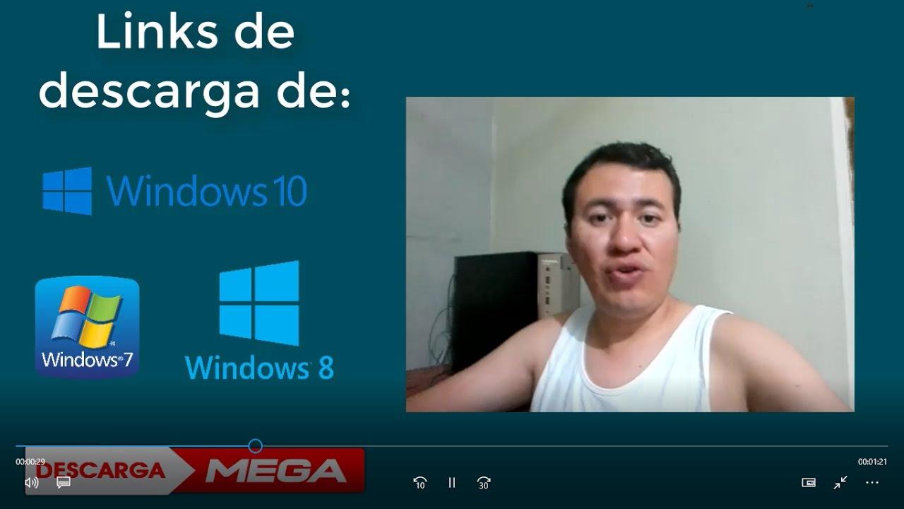 descargar imagen iso de windows 7 gratis por mega
