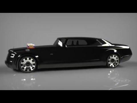 Leaked  Vladimir Putin new ZIL limousine 2016  YouTube