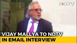 India Focused On Getting Me Than Recovering Money: Vijay Mallya To NDTV