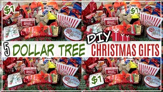 5 DIY CHRISTMAS GIFT IDEAS FROM DOLLAR TREE | SMALL+EASY GIFT IDEAS | CHRISTMAS 2018
