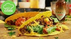 Tacos selber machen | Rezept mit Hackfleisch