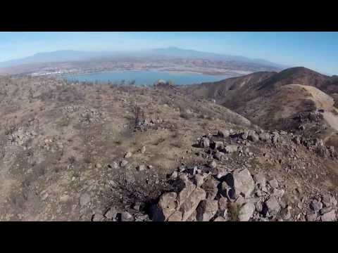 F450 quad RC heli FPV flights, Cleveland National Forest, Ortega Highway/Lake Elsinore area