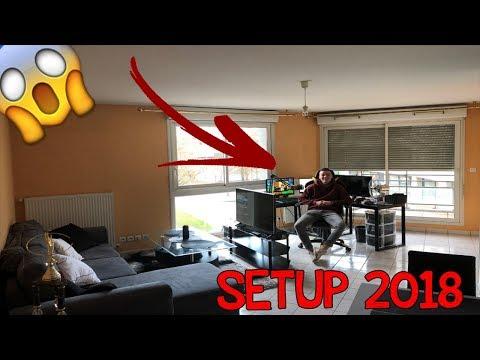 PRÉSENTATION DE MON APPARTEMENT + SETUP GAMING 2018 !