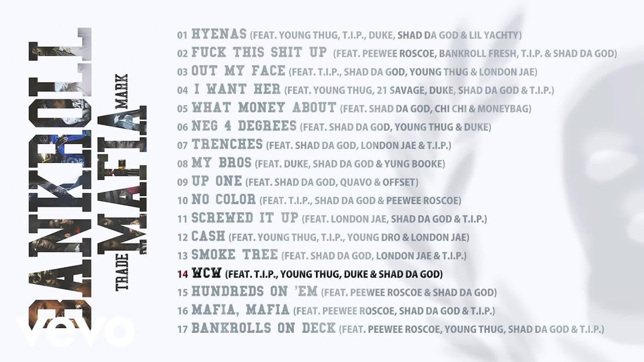 Download Bankroll Mafia - WCW (Audio)