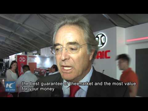 Chinese automaker BAIC steals the show at Mexico car exhibition