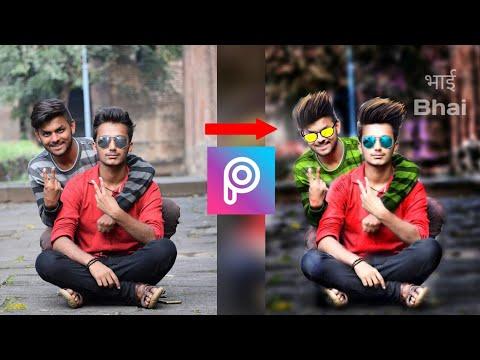 CB editing in PicsArt | New photo editing video