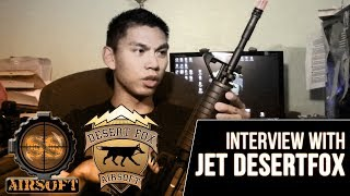 Jet DesertFox Interview - SS Airsoft 7 Year Anniversary