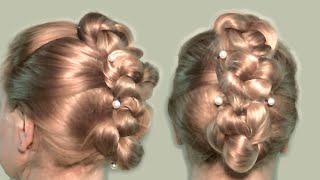 Несложная Прическа для Длинных Волос Видео Урок 2013| Simple hairstyles for long hair video tutorial