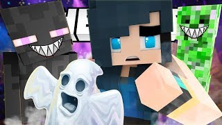 THE SPOOKY HAUNTED AMUSEMENT PARK! - Minecraft Adventures
