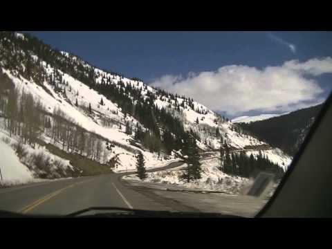 Rocky Mountain Drive - Million Dollar Highway - Ouray to Silverton Colorado- Garden of the God's