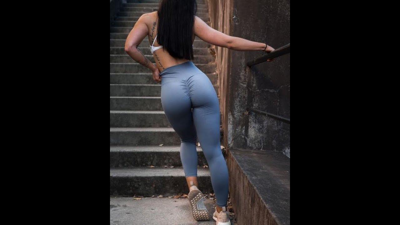 Hot girls in yoga pants videos