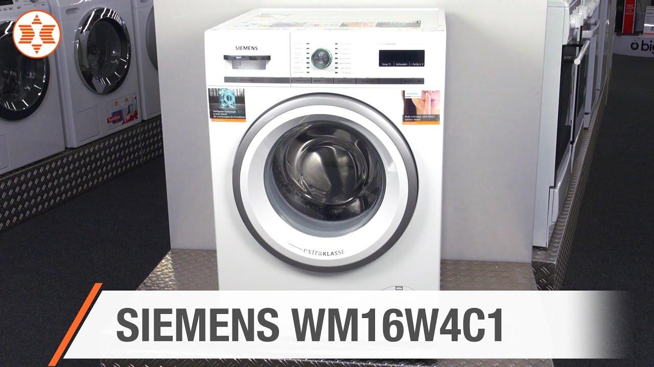 siemens waschmaschine wm16w4c1 jubil ums angebot der woche youtube