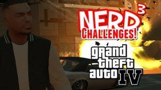 nerd Challenges! Survive Carmageddon - GTA IV