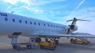 München - Graz (full flight) MUC - GRZ with CRJ 900 over the Alps
