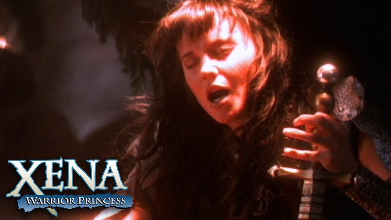 Download Archangel Xena Fights Archdemon Callisto in Hell | Xena: Warrior Princess