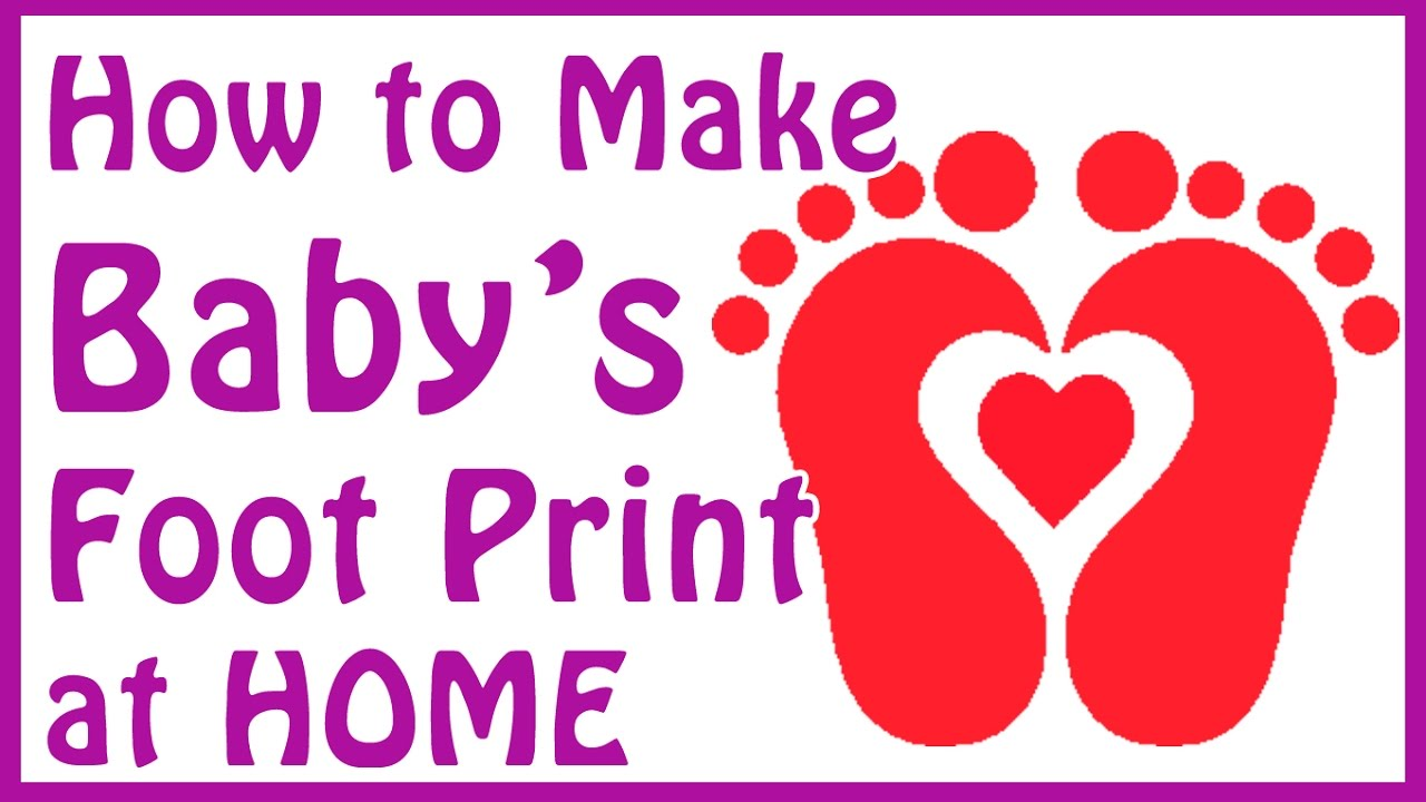 Diy Baby Footprint Ideas How To Make Baby Footprints At