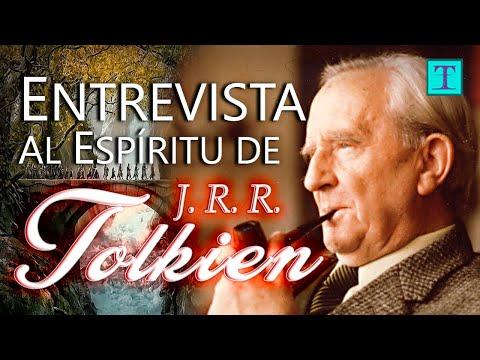j.r.r.-tolkien,-autor-de-el-señor-de-los-anillos-|-entrevistas-a-espíritus-trascendentes-|-tetra-el