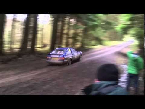 Iwan Roberts / Baz Green SS6 Gwydyr 2 Cambrian rally 2016