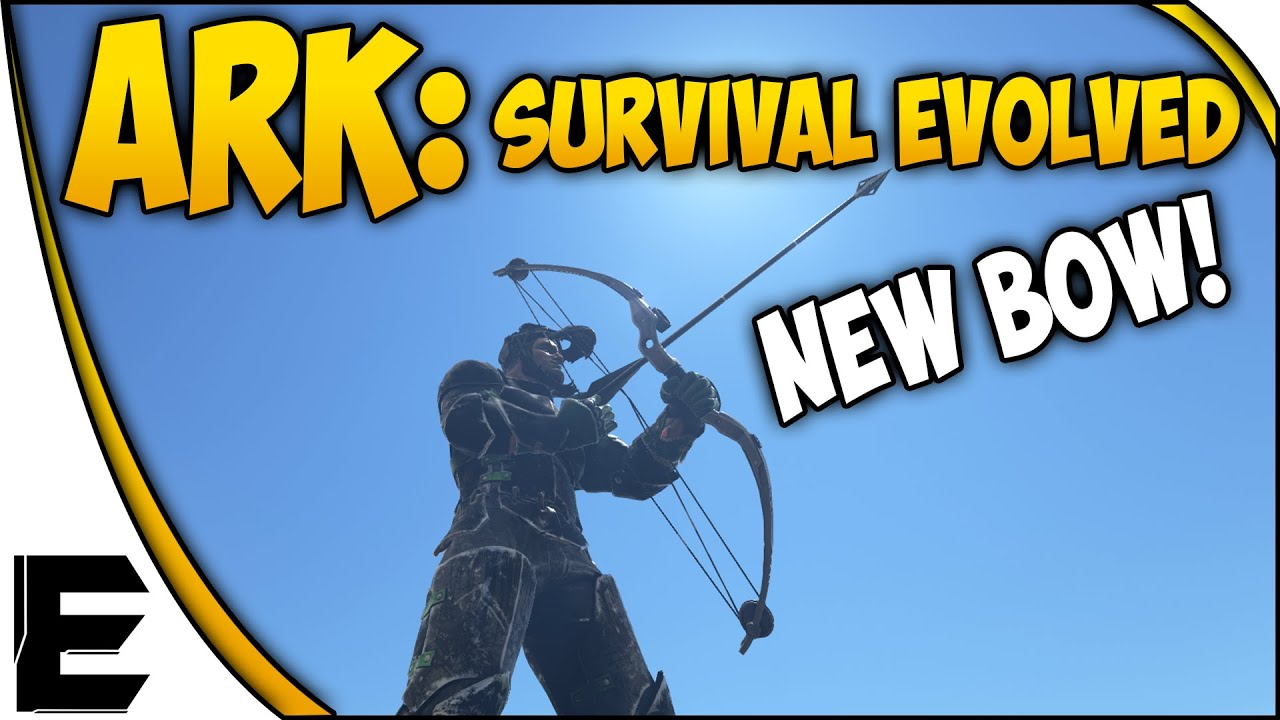 Ark survival evolved gameplay new op compound bow metal ark survival evolved gameplay new op compound bow metal arrows pvp bow youtube malvernweather Image collections