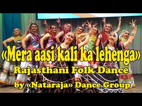 "Rajasthani Folk Dance (""Mera Assi Kalika Lehenga"") By Russian Girls."