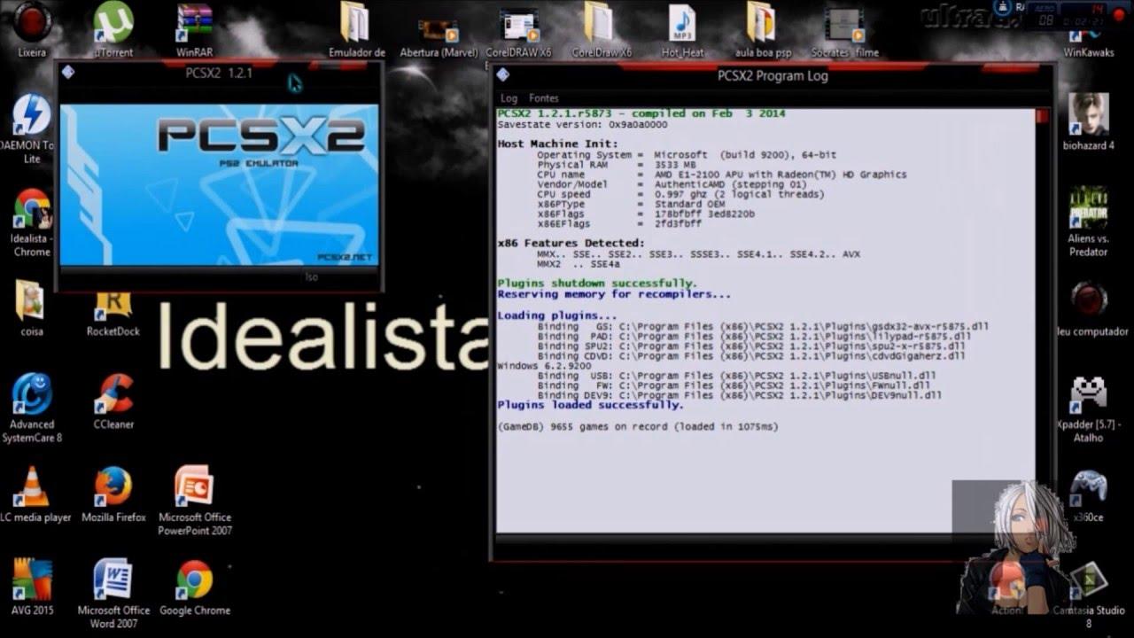 emulador de ps2 para pc windows 7 configurado