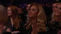 Beyonce at the  2011 Grammy awards