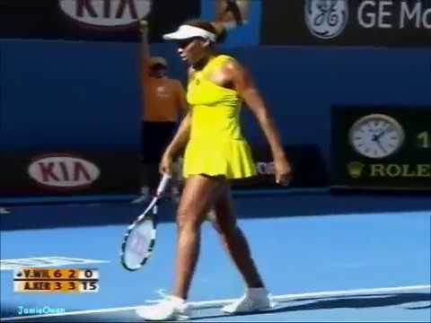 Venus Williams vs Angelique Kerber 2009 AO Highlights