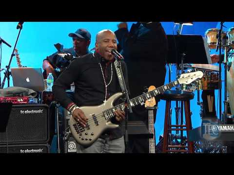 Nathan East Sir Duke performed live at the 30th Annual 2015 NAMM/TEC Awards