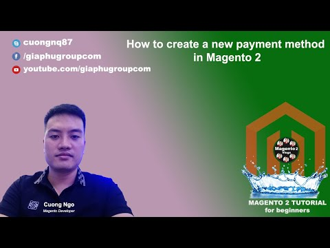 How to create a new payment method in Magento 2
