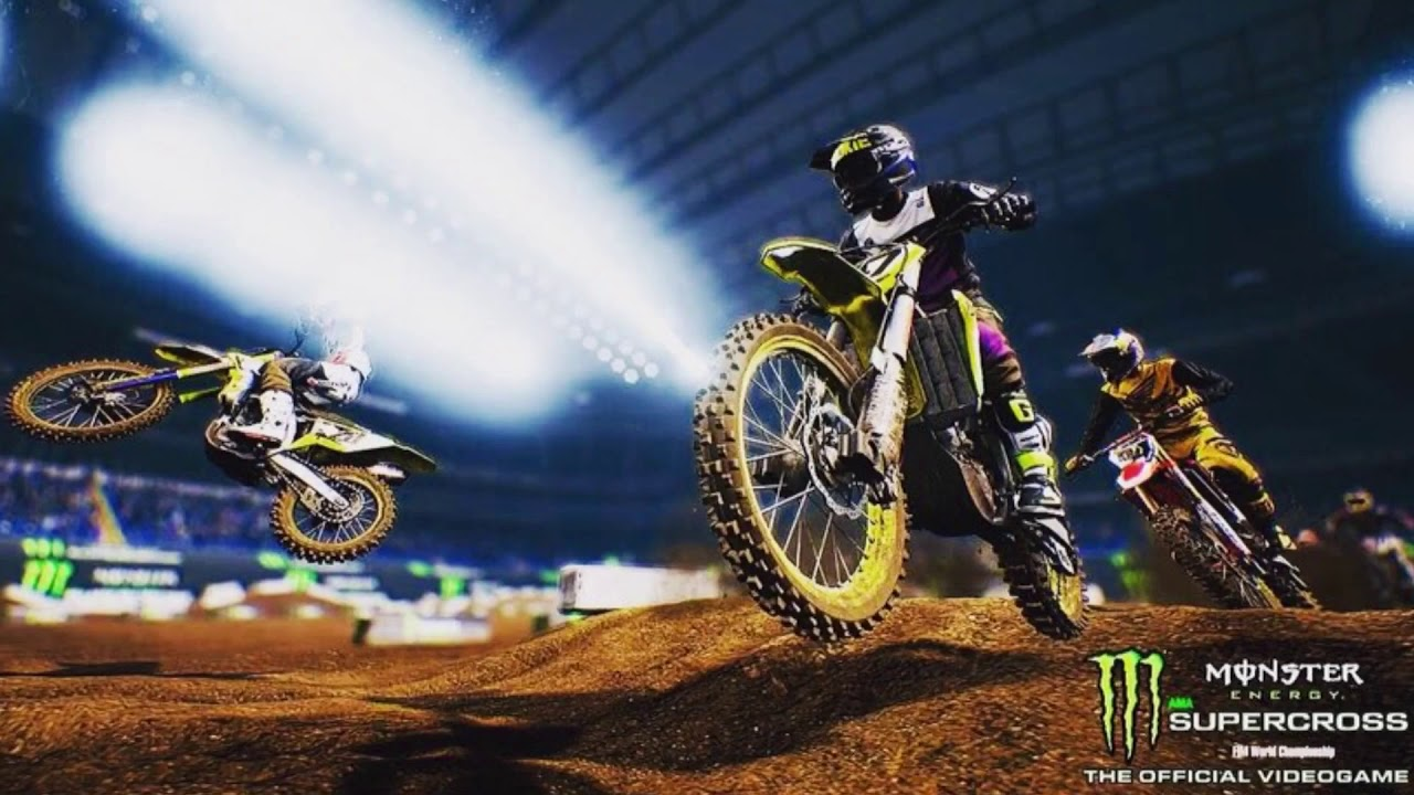supercross the game new screenshots track editor. Black Bedroom Furniture Sets. Home Design Ideas