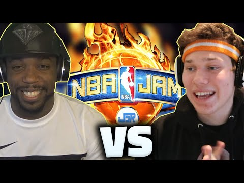 NBA JAM JESSER VS CASHNASTY!!!