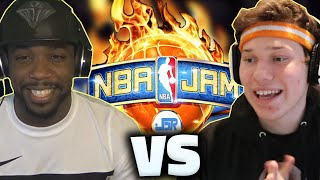 NBA JAM JESSER VS CASHNASTY!!!