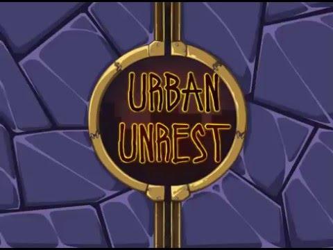 Flash игра Urban Unrest. Городские беспорядки.