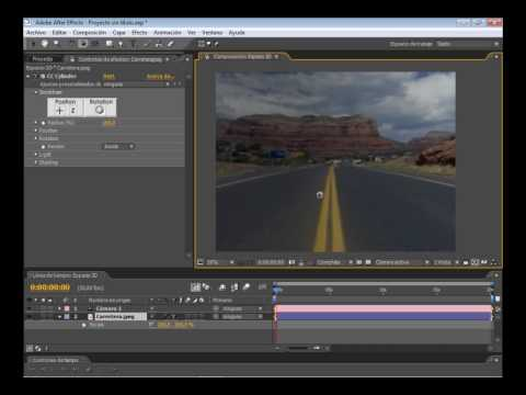 Tutorial After Effects Im�genes de 2D a 3D