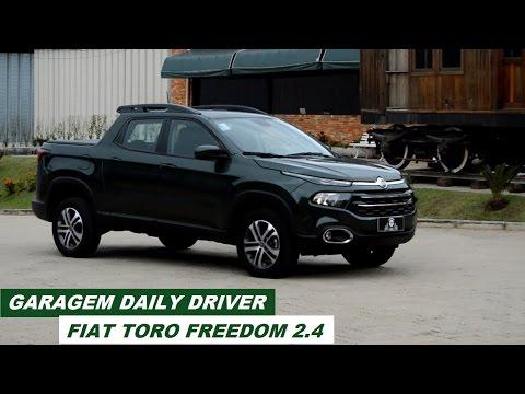 Garagem Daily Driver: Fiat Toro Freedom 2.4