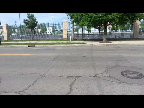Miami Valley Hospital has horrible roads outside their hospital in Dayton, Ohio