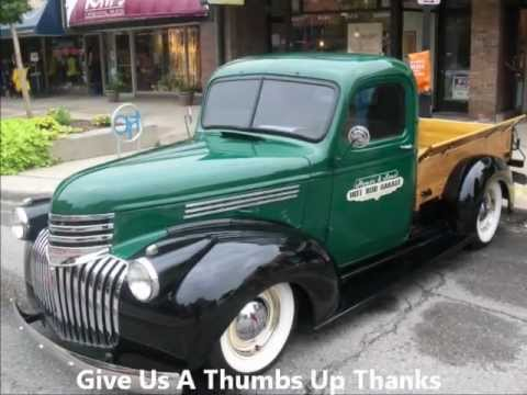 46 Chevy Pick-Up Truck Very Nice - YouTube